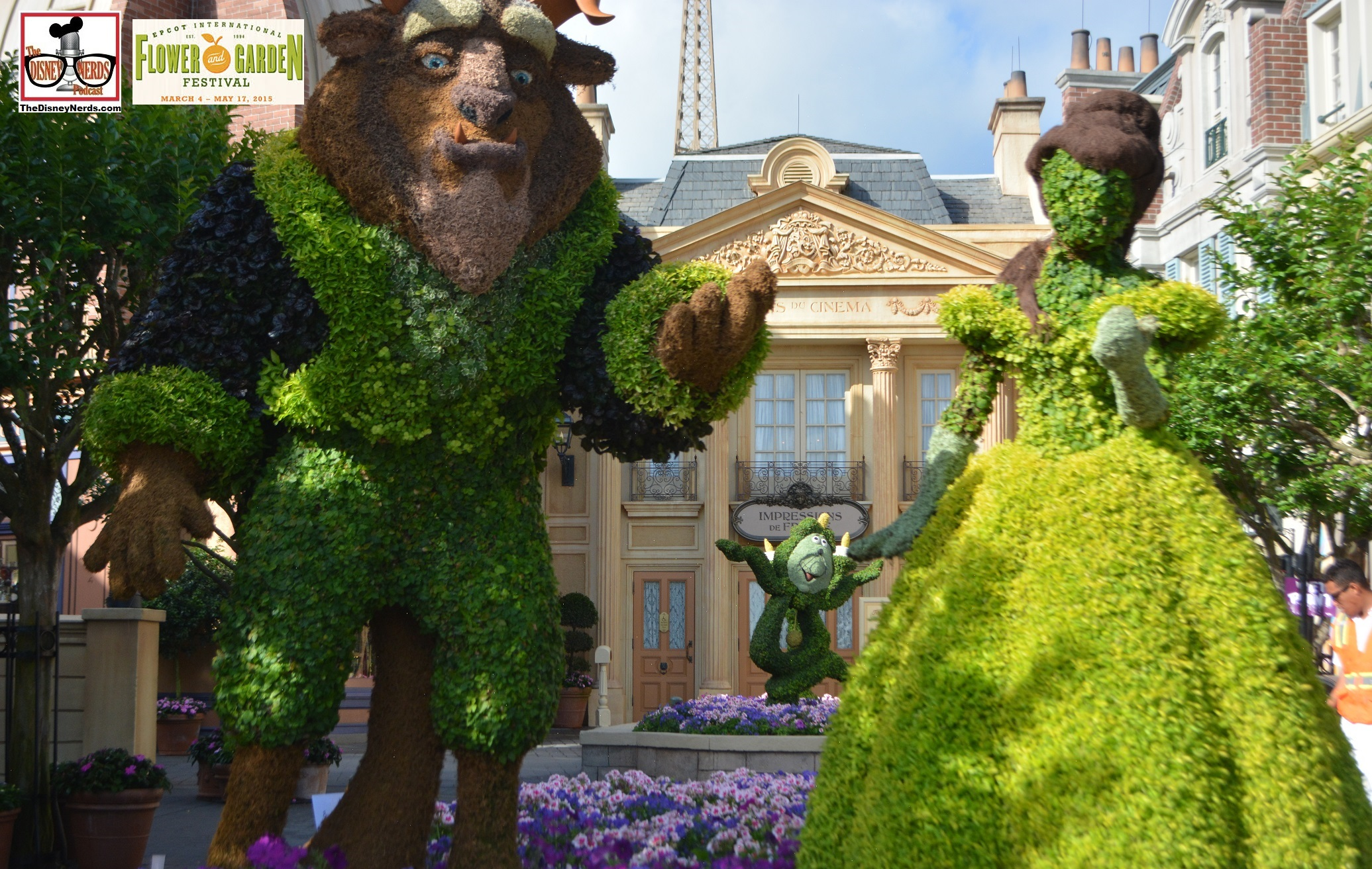 TheDisneyNerdsPodcast Epcot Flower and Garden 2015 Report 76 The Di
