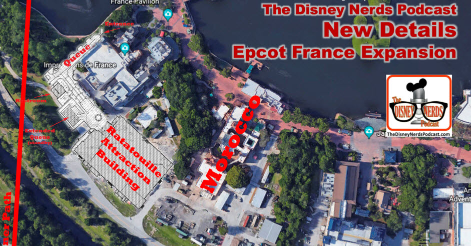 New Details - Epcot France Expansion (Ratatouille Attraction