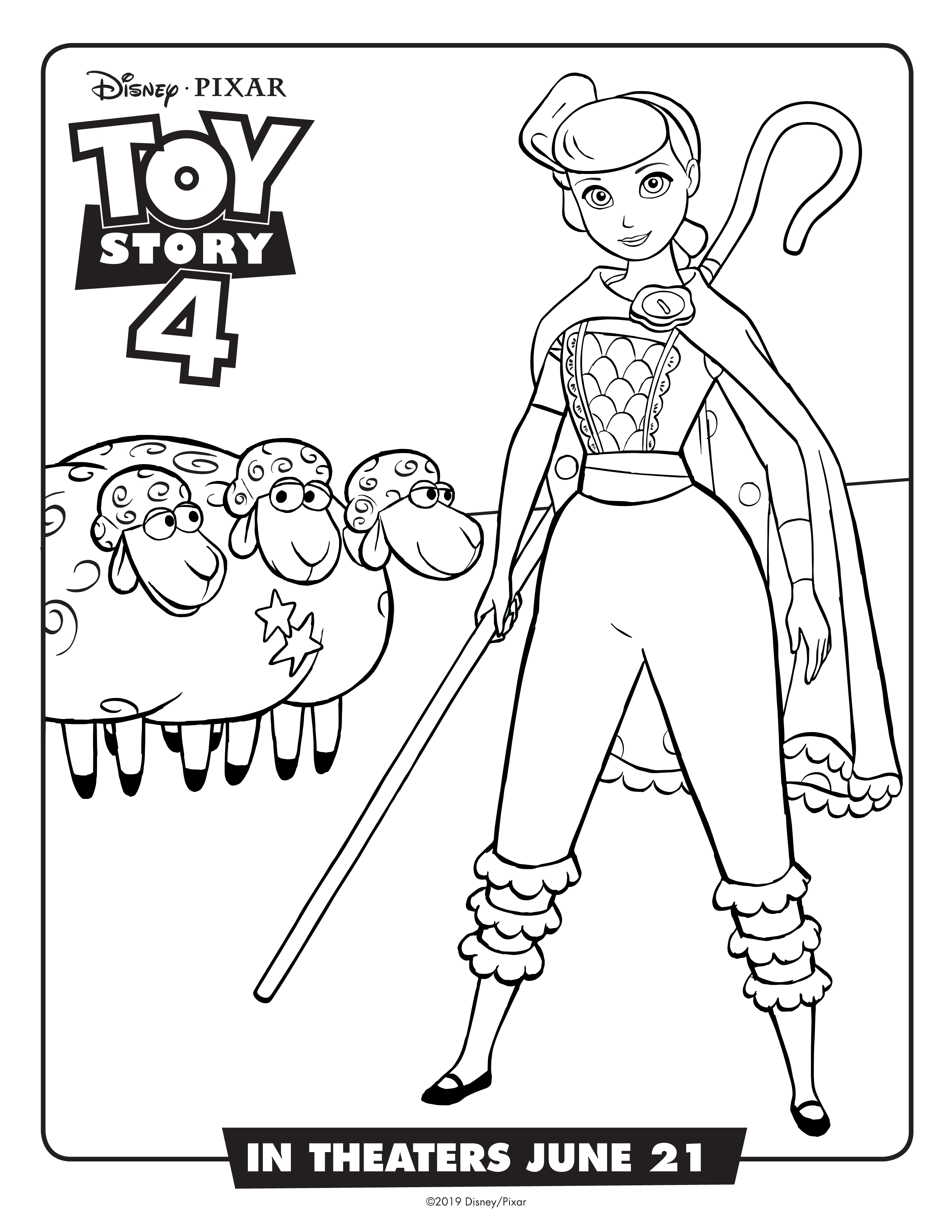 image about Toy Story Printable Coloring Pages known as Obtain Organized for Toy Tale 4 with Absolutely free Printable Functions